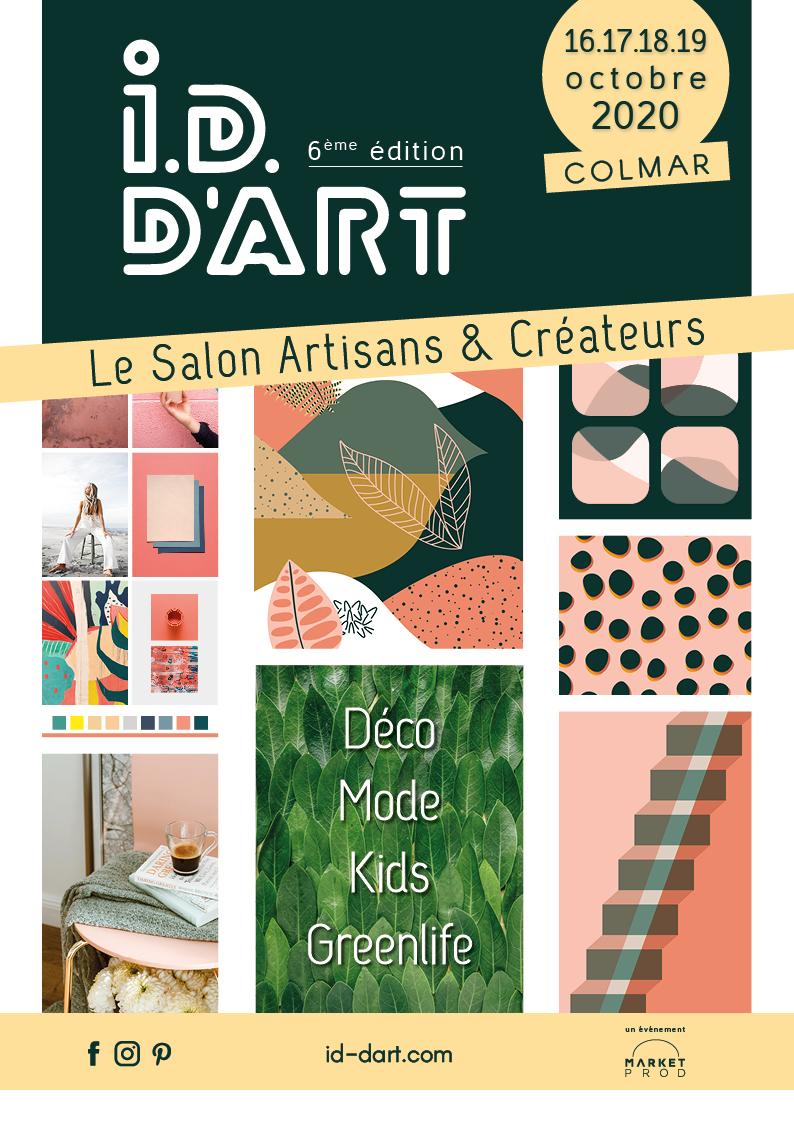 AFFICHE_IDDART_COLMAR_2020_Artisans_Createurs